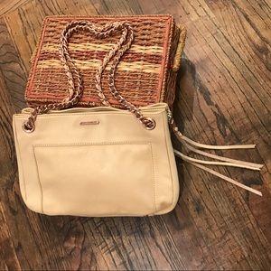 Rebecca Minkoff Leather/Rose Gold Crossbody Bag